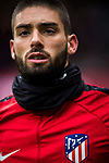 Yannick Ferreira Carrasco of Atletico de Madrid in training prior to the La Liga 2017-18 match between Atletico de Madrid and Getafe CF at Wanda Metropolitano on January 06 2018 in Madrid, Spain. Photo by Diego Gonzalez / Power Sport Images