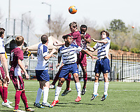 The College of Charleston Cougars played the  Georgia Southern Eagles in The Manchester Cup on April 5, 2014.  The Cougars won 2-0.  Rouven Wahlfeldt (2)