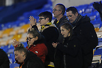 Fleetwood Town fans applaud their team at the final whistle <br /> <br /> Photographer Kevin Barnes/CameraSport<br /> <br /> The EFL Sky Bet League One - Shrewsbury Town v Fleetwood Town - Tuesday 1st January 2019 - New Meadow - Shrewsbury<br /> <br /> World Copyright © 2019 CameraSport. All rights reserved. 43 Linden Ave. Countesthorpe. Leicester. England. LE8 5PG - Tel: +44 (0) 116 277 4147 - admin@camerasport.com - www.camerasport.com