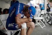 Daniel Oss (ITA/BMC) done racing<br /> <br /> Elite Men Road Race<br /> UCI Road World Championships Richmond 2015 / USA