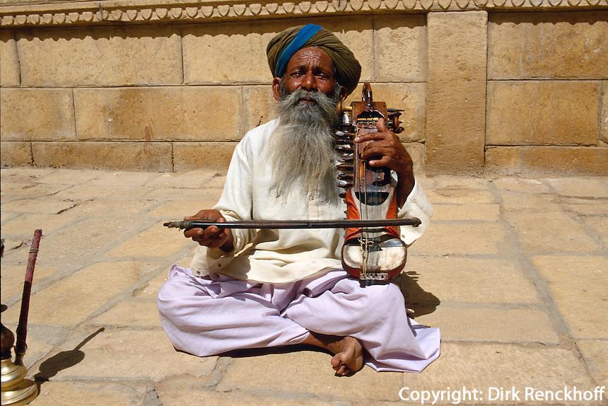 Indien, Jaisalmer (Rajasthan), Musiker