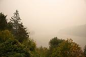 Oregon State<br /> September 17, 2020<br /> <br /> Wildfire smoke shrouds the landscape of rural Oregon.