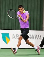 20-01-13, Tennis, Rotterdam, Wildcard for qualification ABNAMROWTT, Fabian van der Lans