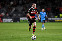 1st May 2021; Bankwest Stadium, Parramatta, New South Wales, Australia; A League Football, Western Sydney Wanderers versus Sydney FC; Jordan Mutch of Western Sydney Wanderers runs onto the through ball