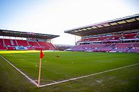 19th December 2020; Bet365 Stadium, Stoke, Staffordshire, England; English Football League Championship Football, Stoke City versus Blackburn Rovers; Awaiting the teams for warm up