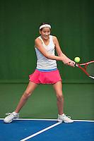 20131201,Netherlands, Almere,  National Tennis Center, Tennis, Winter Youth Circuit, Tess Menten    <br /> Photo: Henk Koster