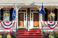 Flag House B&B, Annapolis, Maryland, USA