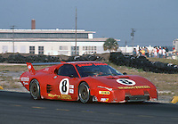 The #8 Ferrari 512BB of Steve Shelton and Tom Shelton races to a 57th place finish at  the 12 Hours of Sebring endurance sports car race, March 19, 1983.  (Photo by Brian Cleary/www.bcpix.com)
