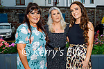 Enjoying the evening in the Ashe Hotel on Saturday, l to r: Grace Conway, Amy Leahy and Aoife Leahy from Tralee.