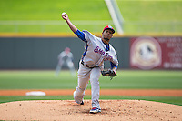 Tennessee Smokies starting pitcher Felix Pena (34) in action against the Birmingham Barons at Regions Field on May 4, 2015 in Birmingham, Alabama.  The Barons defeated the Smokies 4-3 in 13 innings. (Brian Westerholt/Four Seam Images)