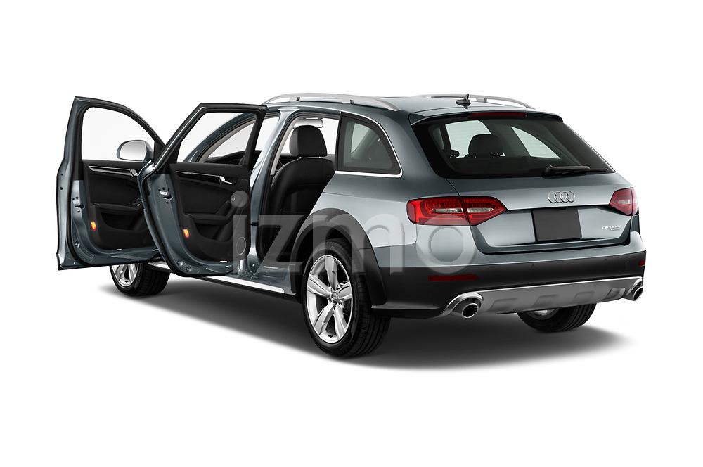 Car images close up view of 2013-2016 Audi A4 Allroad Premium Quattro 4 Door Wagon doors