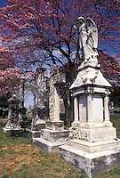 cemetery, Richmond, Virginia, VA, Hollywood Cemetery, burial ground of famous Virginians.