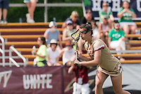 NEWTON, MA - MAY 22: Kayla Martello #38 of Boston College free position portrait during NCAA Division I Women's Lacrosse Tournament quarterfinal round game between Notre Dame and Boston College at Newton Campus Lacrosse Field on May 22, 2021 in Newton, Massachusetts.