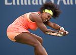 Serena Williams (USA) defeats Madison Keys (USA) 6-3, 6-3