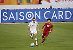 Jordan vs Vietnam during the AFC U23 Championship 2016 Group D match on January 14, 2016 at the Suhaim Bin Hamad Stadium in Doha, Qatar. Photo by Osama Faisal / World Sport Group