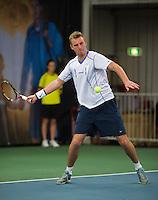 Januari 24, 2015, Rotterdam, ABNAMRO, Supermatch, Glenn Smits<br /> Photo: Tennisimages/Henk Koster
