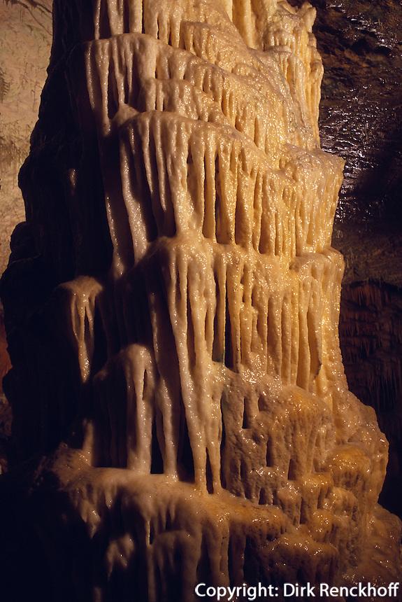 Slowenien, Postojnska jama (Adelberger Grotte).
