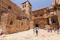 Israel,Jerusalem, church of holy Sepulcher,