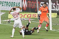 São Paulo (SP), 10/01/2021 - São Paulo-Santos - Goleiro Thiago Volpi. Partida entre São Paulo e Santos válida pelo Campeonato Brasileiro neste domingo (10) no estádio do Morumbi em São Paulo.