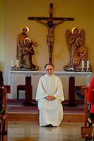 Casa ritiri spirituali  Eremo di Eupilio-Como<br /> La collina dello Spirito:padre Antonio Gentili