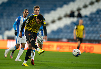 19th December 2020 The John Smiths Stadium, Huddersfield, Yorkshire, England; English Football League Championship Football, Huddersfield Town versus Watford; Étienne Capoue of Watford shoots from distance