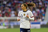 HARRISON, NJ - MARCH 08: Tobin Heath #17 of the United States during a game between Spain and USWNT at Red Bull Arena on March 08, 2020 in Harrison, New Jersey.