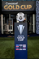 KANSAS CITY, KS - JULY 15: Copa de Oro ball during a game between Martinique and USMNT at Children's Mercy Park on July 15, 2021 in Kansas City, Kansas.