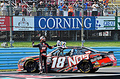 NASCAR XFINITY Series<br /> Zippo 200 at The Glen<br /> Watkins Glen International, Watkins Glen, NY USA<br /> Saturday 5 August 2017<br /> Kyle Busch, NOS Rowdy Toyota Camry wins<br /> World Copyright: Rusty Jarrett<br /> LAT Images