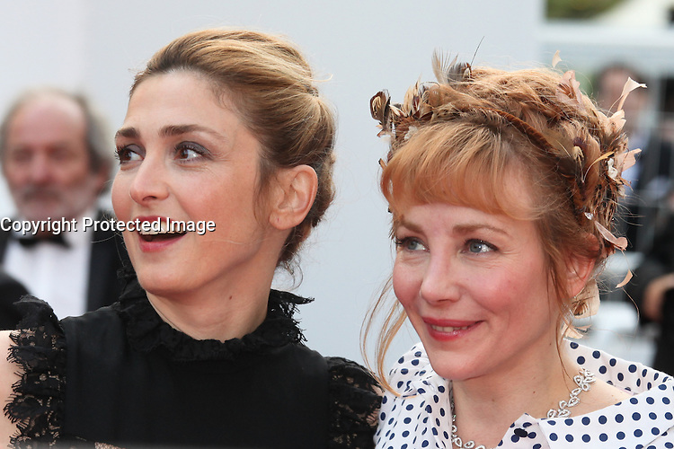 JULIE GAYET AND JULIE DEPARDIEU - RED CARPET OF THE FILM 'LA FILLE INCONNUE' AT THE 69TH FESTIVAL OF CANNES 2016