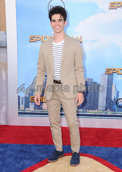 """28 June 2017 - Hollywood, California - Cameron Boyce. """"Spider-Man: Homecoming"""" Los Angeles Premiere held at the TCL Chinese Theatre in Hollywood. Photo Credit: Birdie Thompson/AdMedia"""