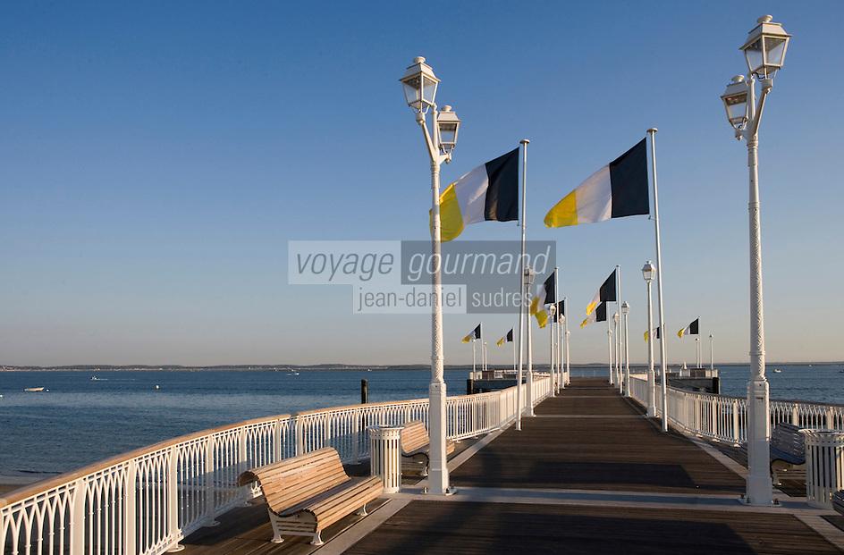 Europe/France/Aquitaine/33/Gironde/Bassin d'Arcachon/Arcachon; la jetée Thiers