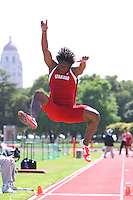 4 May 2008: Stanford Cardinal Oluwadare Kolawole during Stanford's Payton Jordan Cardinal Invitational at Cobb Track & Angell Field in Stanford, CA.