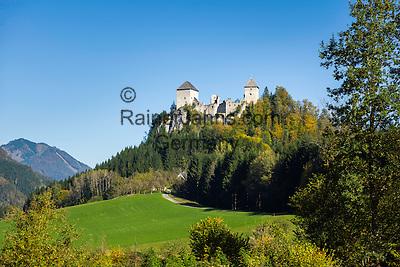 Austria, Styria, St. Gallen: Castle Gallenstein   Oesterreich, Steiermark, St. Gallen: Burg Gallenstein