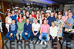 The Greensmyth Triplets Kieran, Mark and John celebrating their 40th birthday in The Barge on Saturday night.<br /> L to r: Liam, Kieran, Kieran, Mark, John and Helen Greensmyth.