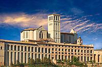 Papal Basilica of St Francis of Assisi, ( Basilica Papale di San Francesco ) Assisi, Italy