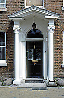 London: Doorway, No. 11, College Rd., Dulwich. C. 1750. Series: Classical Traditional. Photo '90.