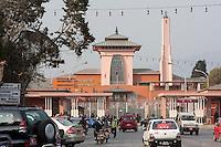 Nepal, Kathmandu.  Narayanhiti Royal Palace, now a Museum.
