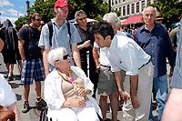 Louise harel et Amir Khadir  participent a ACCES HANDICAP :  une activitée de sensibilisation a la réalité des personneshandicapées en ville, le 18 Juin 2011, sur la Place Jacques-Cartier, pres de l'hôtel de Ville.<br /> <br /> Photo : Agence Québec Presse - Pierre RousselLouise harel et Amir Khadir  participent a ACCES HANDICAP :  une activitée de sensibilisation a la réalité des personneshandicapées en ville, Juin 2011, sur la Place Jacques-Cartier, pres de l'hôtel de Ville.<br /> <br /> Photo : Agence Québec Presse - Pierre RousselLouise harel et Amir Khadir  participent a une activitée de sensibilisation a la réalité des personneshandicapées en ville, Juin 2011, pres de l'hôtel de Ville Montreal QC CANADA - July 27 2011 - Fantasia Film Festival -  Robert Charlebois, Quebec singer attend a screening of spaghetti western classic : Un génie, deux associés, une cloche.<br /> <br /> Photo : Agence Quebec Presse