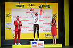 Ben O'Connor (AUS) AG2R Citroën Team wins Stage 9 and also the days combativity prize of the 2021 Tour de France, running 150.8km from Cluses to Tignes, France. 4th July 2021.  <br /> Picture: A.S.O./Pauline Ballet   Cyclefile<br /> <br /> All photos usage must carry mandatory copyright credit (© Cyclefile   A.S.O./Pauline Ballet)