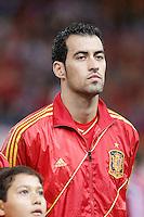 Spain's national team Sergio Busquets during match. October 16, 2012. (ALTERPHOTOS/Alvaro Hernandez) /NORTEPhoto