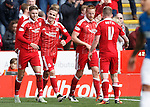 James Maddison scores the winner for Aberdeen and celebrates