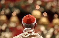 A cardinal attends the Christmas Eve Mass led by Pope Francis in Saint Peter's Basilica at the Vatican, on December 24, 2018. <br /> UPDATE IMAGES PRESS/Isabella Bonotto<br /> <br /> STRICTLY ONLY FOR EDITORIAL USE