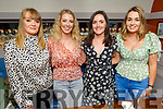 Gloria Keane, Niamh Guerin, Katie O'Regan and Jennifer Conway enjoying the evening in Benners Hotel on Saturday.