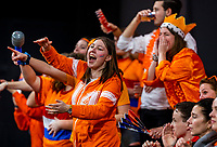 The Hague, The Netherlands, Februari 7, 2020,    Sportcampus, FedCup  Netherlands -  Balarus, Seccond match on friday: Dutch supporters<br /> Photo: Tennisimages/Henk Koster