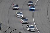 #4: Todd Gilliland, Kyle Busch Motorsports, Toyota Tundra Mobil 1 and #18: Harrison Burton, Kyle Busch Motorsports, Toyota Tundra Safelite AutoGlass and #51: Brandon Jones, Kyle Busch Motorsports, Toyota Tundra Chigo/Menards