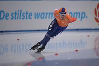 SPEEDSKATING: 23-11-2019 Tomaszów Mazowiecki (POL), ISU World Cup Arena Lodowa, 1500m Men Division B, Douwe de Vries (NED), ©photo Martin de Jong