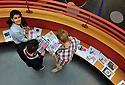 02/10/12 - CLERMONT FERRAND - PUY DE DOME - FRANCE - Illustration. Shooting etudiants a l Ecole Superieure de Commerce de Clermont Ferrand - Photo Jerome CHABANNE/Reservoir Photo