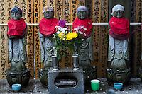 Mizukojizo (Guardian deity for the spirits of aborted or miscarried children) Araiyakushi Baishoin temple near Araiyakushimae station on seibu Shinjuku line in Nakano, Tokyo