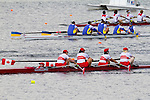 Rowing, Canada, Canadian LTA Mixed Coxed Four, Anthony Theriault, Meaghan Montgomery, Victoris Nolan, David Blair, stroke, Laura Comeau, cox, Final, First Place, Gold, Thursday, November 4, 2010, 2010 FISA World Rowing Championships, Lake Karapiro, Hamilton, New Zealand,