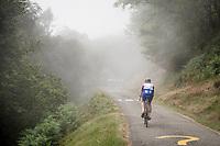 Stefan Küng (SUI/Groupama-FDJ) up the very steep section (+16%) of the Mur de Péguère (Cat1/1375m/9.3km/7.9%)<br /> <br /> Stage 15: Limoux to Foix(185km)<br /> 106th Tour de France 2019 (2.UWT)<br /> <br /> ©kramon